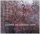 Polyester printed pu coated fabric used for shoes and bags