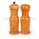 Hot selling Wood Salt Shaker and Pepper Mills