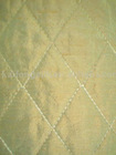 silk douppioni quilted fabric-184