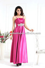 2012 fashionable ladies elegant spaghetti strap evening dress