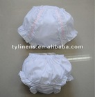 Wholesale Ribbon with Lace cotton Girl's bloomer