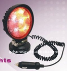 New-Visible 18W Red LED work light for excavator