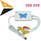 4 channel video & 1 channel audio USB DVR / Laptop usb Dvr card
