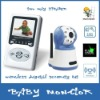 "2.5"" wireless night vision digital baby monitor two way speaker"