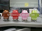 Android Robot FM MP3 TF USB color led computer speakers