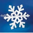 PMMA deco, acrylic snowflake decoration