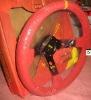 Suede 350mm Steering Wheel