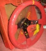 Suede 350mm Steering Wheel
