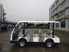 8 seats passenger Electric shuttle bus, tourist coach,airport Shuttle Bus, with Power-Assisted Steering-LQY83A-Luxury