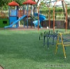 Playground green artificial turf