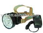 Rechargeable&Environmental 1High power+9pcs LED headlamp