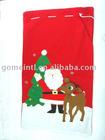 2010 Kids Gift bag,Beautiful Christmas bag,Present bag,Soft velboa elboa bag