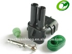 Delphi 2 ways female waterproof auto connector