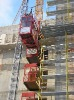 SC200/200 general hoist with twin cage construction of elevator