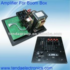Power amplifier for boom box