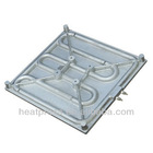 cast aluminium electric heating plate