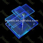 ZS-096 Blue acrylic display stand