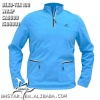 Mens hiking wear work out wear half zip
