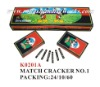 MATCH CRACKER