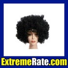 Party Afro Wig for Masquerade Party Black