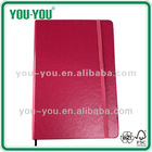 Gift and promotional gift set of customized paper notebook/diary 2013/Agenda/High quality PCU cover lether cover notebook