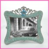 wholesale fashion light blue green zinc alloy photo accessory picture frames