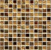 colored gold foil glass mosaic