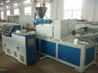 Plastic PVC Twin-Screw Extruder