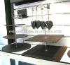 2 tier round shape slate cake stands/black slate cup cake stand/square shape slate 3 tier cake stand