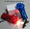 Battery Operated Sling Fan with Torchlight
