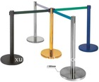 350mm dia base stanchions/ crowd control barrier/ queue barrier