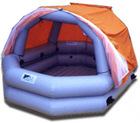 inflatable tent boat