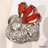 Wine alloy ring jewellery