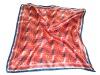 Luxury silklike square sari