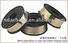 Brass Wire for zipper parts zipper accessories stopping wires