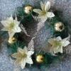 pvc christmas decoration wreath