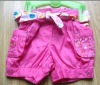 girl's cotton shorts
