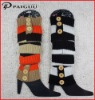 Japan&South Korea popular women lady winter knitting acrylic leg warmers