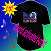 Best selling EL sound activated t-shirts