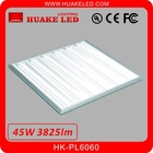 Warm White 600*600mm 45w LED Grille Light HK-PL6060 with CE PSE FCC Approval