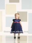 2012 Navy Blue Little Flower Girl Dress TB-014