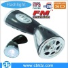 Portable Flashlight mini digital Speaker with USB SD FM