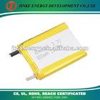 3.7V Li polymer battery cell 404050