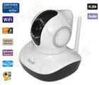 IR IP camera CMOS 1.0 mega pixel indoor use P/T camera