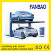 two post auto hydraulic car parking lift