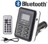 Bluetooth Car MP3 Player Car HandFree Kit FM Transmitter Remote Control USB/SD/MMC