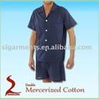 100% Cotton Sleepwear short sleeve Pajamas
