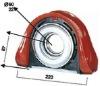 KNC.AB:20615 DAF propshaft drive shaft centre bearing