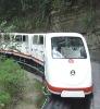Modern Design Electric Light Rail Passenger Train for Amusement Park