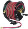 manual twin welding hose reel